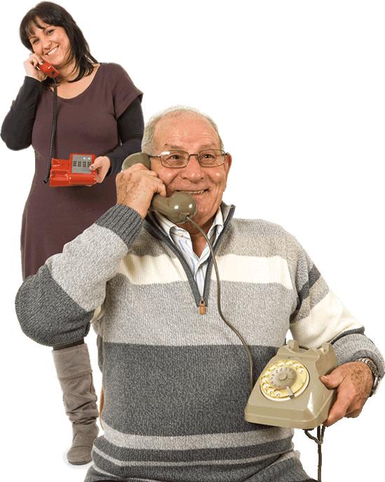 Telefono salvavita per anziani: scelta intelligente